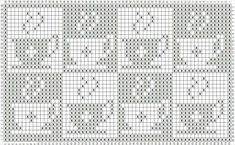 Crochet Curtain Pattern, Crochet Curtains, Crochet Tablecloth, Tapestry Crochet, Crochet Doilies, Crochet Square Patterns, Beading Patterns Free, Christmas Crochet Patterns, Crochet Diagram
