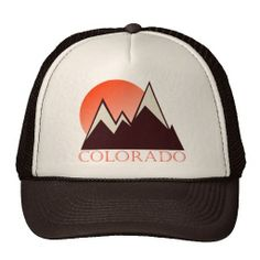 Colorado Vintage Trucker Hat  My old stomping ground - racing oasis