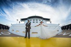 Hochzeit Mein Schiff 3 - Vor der Brücke