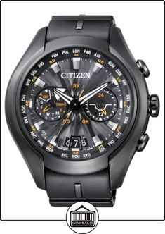 Citizen Promaster Sky -  Satellite Wave - Air - Reloj de cuarzo para hombre, correa de goma color negro  ✿ Relojes para hombre - (Lujo) ✿ Sale! Up to 75% OFF! Shop at Stylizio for women's and men's designer handbags, luxury sunglasses, watches, jewelry, purses, wallets, clothes, underwear & more!