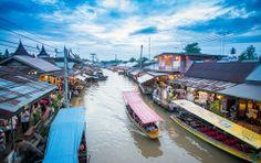 Amphawa Flaoting Market