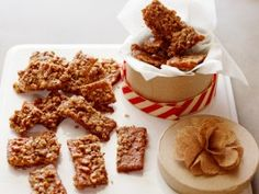Graham Cracker Toffee from CookingChannelTV.com - Per reviewer, drizzle chocolate over top