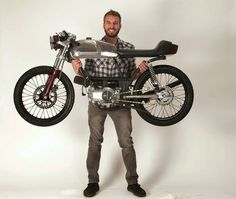 "Rogue Creation's ""Blood Lust"" Moped - Grease n Gasoline 