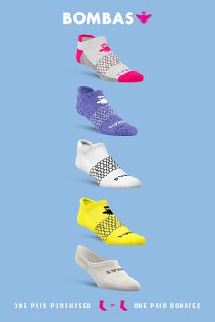 Treat your feet to mind-blowingly comfortable Bombas socks. No toe seam. off pairs. My Socks, Athletic Wear, Sock Shoes, Workout Gear, Things To Buy, Me Too Shoes, Barre Clothes, Cute Outfits, Fashion Outfits