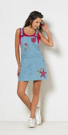 Skirt Jumpsuit Cotton - Dresses - Women