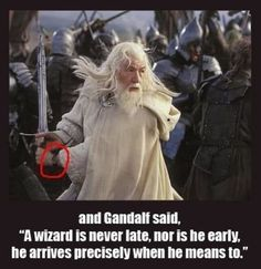 Nice watch, Gandalf. :)