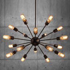 Decor8 Modern Furniture Hong Kong - Modern Lighting - Masi Industrial Loft Satellite Ceiling Lamp