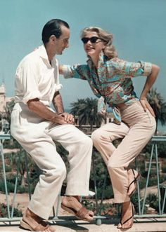 "Emilio-Pucci 1955 | Shirt from the ""Siciliana"" collection worn by Grace Kelly"