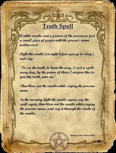 Truth Spell