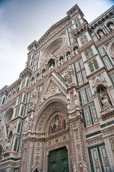 I can't get enough of the Duomo in Florence, Italy.