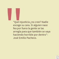 """Cita extraída del cuento """"La zarpa"""" de #JoséEmilioPacheco del libro """"El principio del placer""""."""