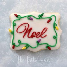 The Partiologist: Christmas Cookies!