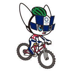 Miraitowa and Someity's Sports Poses 2020 Summer Olympics, Olympic Mascots, Tokyo 2020, Paperchase, Field Hockey, Esports, Smurfs, Character Art, Nintendo