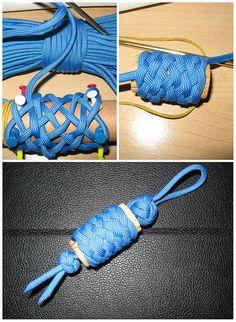 Blue #cork #key #fob #paracord #550cord #THK