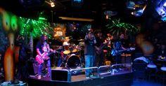 Live Band in der Amazonia Bar, Hong Kong