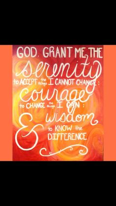 Original Acrylic on Canvas - The Serenity Prayer *Jenna Voelker*