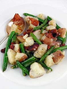 Warm Green Bean and Potato Salad by patrice
