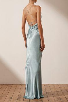 Year 10 Formal Dresses, Silk Formal Dress, Cute Prom Dresses, Grad Dresses, Ball Dresses, Pretty Dresses, Beautiful Dresses, Bridesmaid Dresses, Backless Formal Dress
