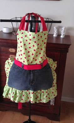 aprons some are made with denim others are by sewingbyadane, $30.00
