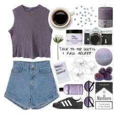 """""""☽but I'm just a soul whose intentions are good, Oh Lord, please don't let me be misunderstood☽"""" by eveebaptiste ❤ liked on Polyvore featuring Retrò, DAY Birger et Mikkelsen, adidas, Nikon, philosophy and Sia"""