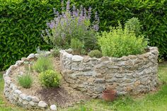 Establishing a backyard herb spiral lets you grow lots of herbs in a concentrated, visually pleasing way. Here are 8 benefits and how to get started. Backyard Vegetable Gardens, Rooftop Garden, Garden Landscaping, Culture D'herbes, Herb Spiral, Mason Jar Herb Garden, Garden Images, Garden Boxes, Garden Planning