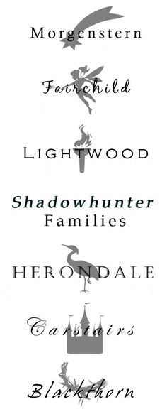 Because of course Shadoewhunters couldn't just be 'smith' or 'brown'