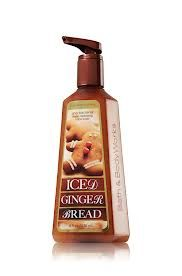 Iced Ginger Bread Hand soap from Bath and Body works smells so good!
