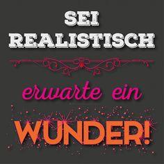 ... Wunder gibt es immer wieder ... SINGEN ;))