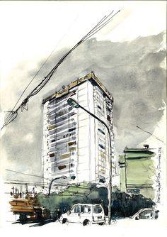Dibujos de arquitecto: Santa Rita