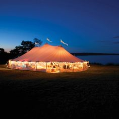 sperry wedding tents