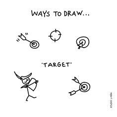 200 vind-ik-leuks, 2 reacties - Studio Limón (@studiolimonillustrations) op Instagram: 'This one is for Robin Hood. Word of day 12: Target. . . #365waystodrawfestival #target #robinhood…'