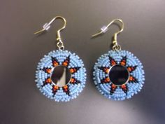 morning star earrings native american by deancouchie on Etsy, $30.00