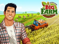 Play Goodgame Big Farm and build a huge farming paradise! Raise cattle, plant crops, train horses, and complete fun missions. Play now for free!