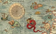 """Explorers never really wrote """"Here Be Dragons,"""" but they did use their maps to expand their power (The Visual Politics Of Cartography)"""
