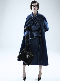 fashion editorials, shows, campaigns & more!: true blue: kasia struss by josh olins for dazed & cofused april 2013