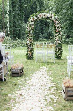 Hochzeitstagebuch: Die Blumendekoration von Où j´ai grandi - Journelles