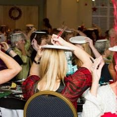 we should play the paper plate games at Christmas Ladies night this year. = )