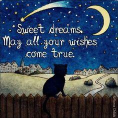 Cat Good Night Images on Pinterest | Good Night, Good Night Sweet ...