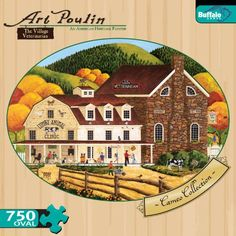 Cameo Collection The Village Veterinarian 750 Pieces Jigsaw Puzzle * This is an Amazon Affiliate link. You can find out more details at the link of the image.
