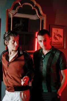 The Last Shadow Puppets (Alex Turner and Miles Kane)