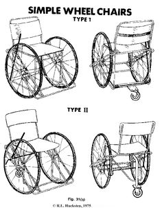 how to make a wheelchair or scooter, plans