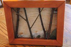 White Birch Bark Wall Hanging FREE SHIPPING by WildWoodBarkArt