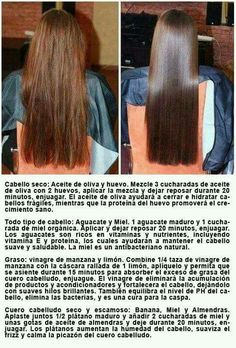Tratamientos cabello