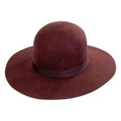 b9352ebc312 Brixton Hats Magdalena Wool Felt Wide Brim Hat Casual Hats