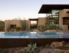 The Brown Residence located in Scottsdale, Arizona by Lake Flato Architects