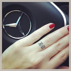 32 Real Couples Who Gave Up Their Engagement Rings For Tattoos: When Behati Prinsloo revealed her engagement tattoo — three small dots that run vertically down her ring finger — we were surprised.