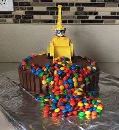 My turned 4 this last month! He is a big Paw Patrol fan. We always like to make fun and easy cakes, and this one fit that bill. It is a really fun cake for him and it was. Cake 5 Year Old Boy, Cake 5 Years Old, 3 Year Old Birthday Cake, Boys First Birthday Cake, Paw Patrol Birthday Cake, Paw Patrol Cake, Birthday Desserts, Happy Birthday Cakes, 5th Birthday