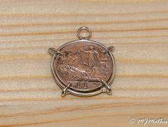 Eye Catching Sterling Silver Morgan Dollar Coin Bezel Setting Pendant