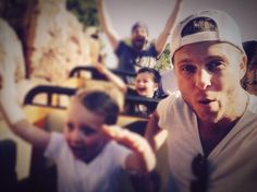 Ryan at Disneyland with Copeland!!!! <3