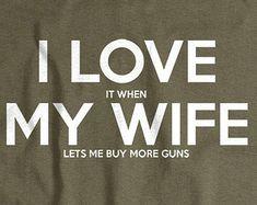 Gun shirt for husband gun gift for husband from wife 2nd amendment tshirt right to bear arms tee shirt Christmas Gift